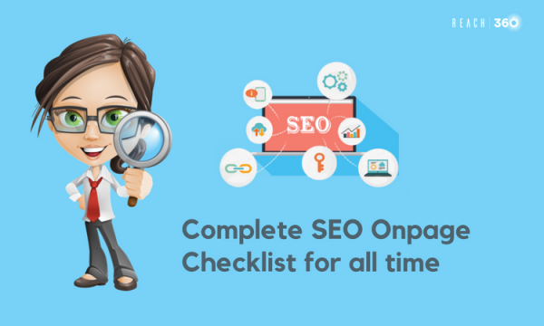 The Complete SEO On-page checklist for all-time